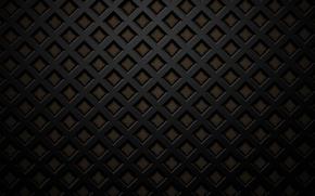 Picture black, grille, dark