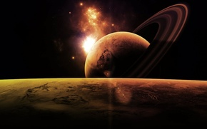 Picture space, planet, space, universe