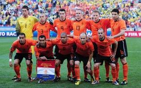 Picture football, football, robben, holland team, van persie, sneider