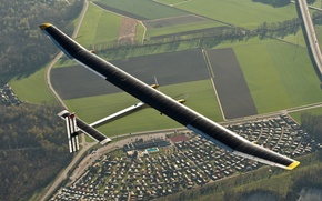 Picture the plane, solar impulse, solar energy