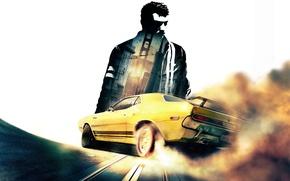 Picture car, Dodge Challenger, games, Driver, San Francisco