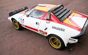 Picture rally, Car, Stratos, Lacia