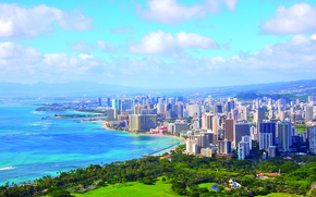 Picture the city, Honolulu, Hawaii
