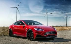 Picture Tesla, Model S, Tesla, electric car, 2015, Larte Design, Elizabeth