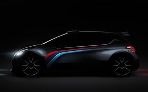 Picture Peugeot, Profile, Peugeot, Rendering, 208