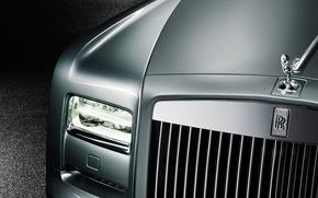 Picture headlight, Rolls-Royce, grille, emblem