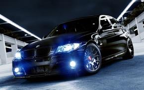 Picture auto, bmw, black