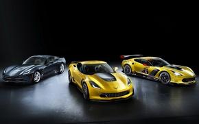 Picture background, Z06, Corvette, Chevrolet, Chevrolet, supercar, the front, Stingray, Corvette, C7.R GT2