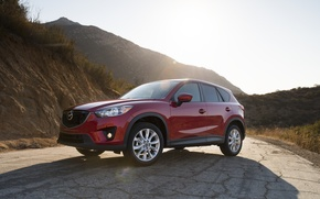 Picture red, Mazda, CX-5, Skyactiv, SOUL RED