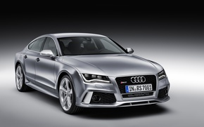 Wallpaper machine, Audi, quattro, Sportback, RS7