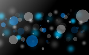 Picture color, circles, abstraction, background, Wallpaper, black, wallpapers