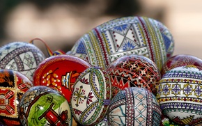 Picture eggs, spring, Easter, Pysanka
