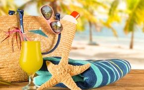 Wallpaper glasses, vacation, beach, beach, sea, sand, sea, sand, cocktail, summer, summer