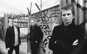 Wallpaper Muse, Dominic Howard, Chris Wolstenholm, Matthew Bellamy