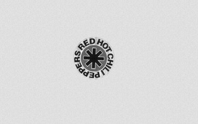 Picture music, minimal, symbol, Red Hot chili peppers, fun art