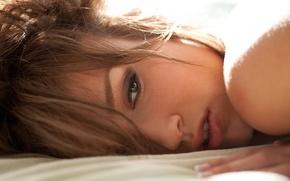 Wallpaper look, model, hairstyle, Malena Morgan, face
