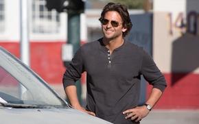 Picture The Hangover 3, smile, actor, the film, male, machine, Bradley Cooper, Bradley Cooper, glasses, The …