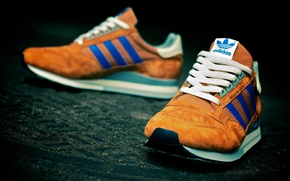 Picture blue, Adidas, sneakers, Adidas ZX500