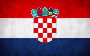 Picture flag, Croatia, The Republic Of Croatia, The Republic Of Croatia