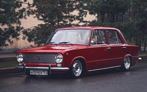 Picture retro, red, penny, red, classic, jdm, tuning, retro, classic, Lada, vaz, VAZ, lada, Lada, 2101, …