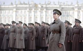 Picture drama, first, historical, the first world, overcoat, women's, Maria Kozhevnikova, immortal, battalion of death, Battalion