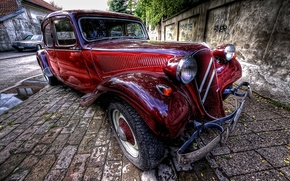 Picture HDR, Car, Classic, Camera, Professional, Feature