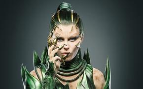 Picture Girl, Action, Fantasy, Power, Green, Alien, Warrior, Golden, Evil, Woman, EXCLUSIVE, Movie, Rangers, Film, Hair, …