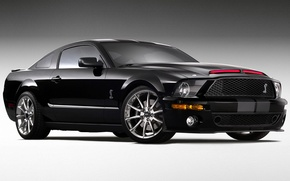 Wallpaper black, muscle, Ford Shelby Cobra