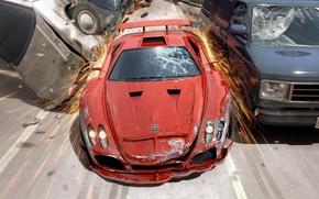 Picture machine, crash, speed, burnout revenge