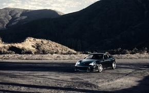 Wallpaper Porsche Carrera 911 4s, Carrera, Porsche, mountains, nature, sports car