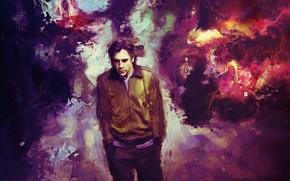 Picture background, figure, art, male, Javier Bardem, Javier Bardem, Digital art, actor.