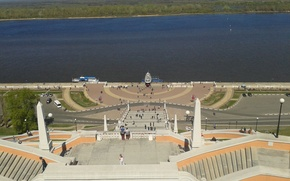 Picture Nizhny Novgorod, the Volga river, nijni novgorod
