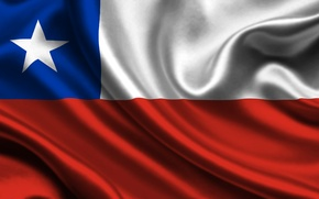 Picture flag, Chile, chile