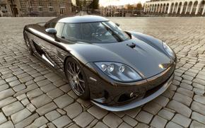 Picture the city, pavers, Koenigsegg CCX