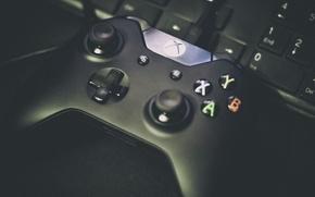 Picture button, keyboard, console, xbox, gamepad, gamepad, Xbox One, sticks, Juan