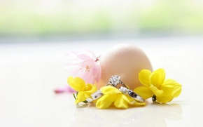 Picture flowers, ring, wedding