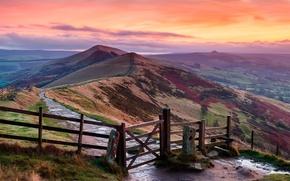Picture hills, England, England, Peak District