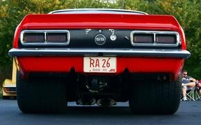 Picture machine, street, Chevrolet, Camaro, expensive, wheel, 1968, Camaro, Chevrolet