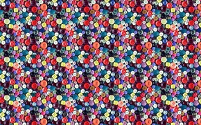 Picture holes, background, circles, buttons, repeating pattern, texture