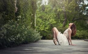 Picture girl, dance, ballerina