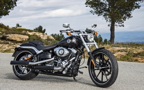 Picture Harley, Motorcycle, Harley-Davidson, Breakout
