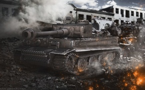 Picture Germany, tank, Tiger, tanks, Germany, WoT, World of tanks, tank, World of Tanks, tanks, Wargaming.Net, …