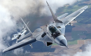 Picture Fighter, missiles, MiG-29A