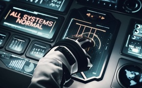 Picture space, future, mood, hand, astronaut, spaceship, 2K Games, Firaxis Games, Civilization: beyond Earth