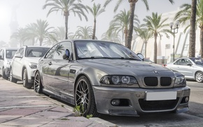 Picture BMW, BMW, grey, grey, E46