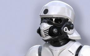 Picture fiction, art, soldiers, helmet, star wars