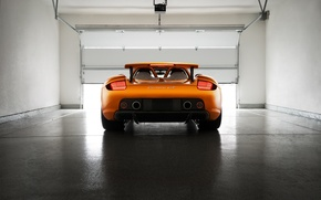 Picture Porsche, Orange, Carrera, Supercar, Exotic, Borealis, Rear, Ligth, Arancio