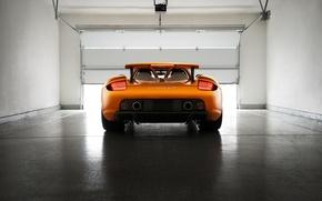 Picture Porsche, Orange, Carrera, Supercar, Exotic, Borealis, Rear, Ligth, Arancio