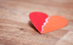 Picture macro, red, paper, background, Wallpaper, mood, heart, wallpaper, love, heart, widescreen, background, full screen, HD …
