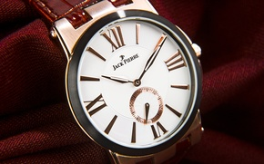Picture metal, red, Watch, jack pierre